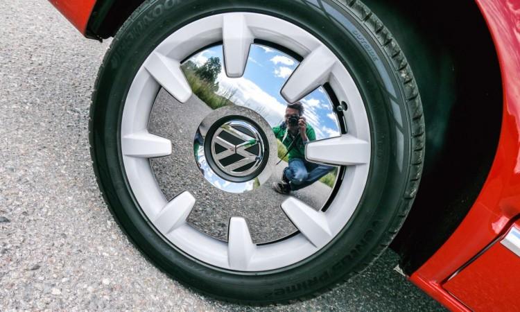 "Die Felgen des VW T6 Sondermodells ""Generation Six"" in Retro-Optik."