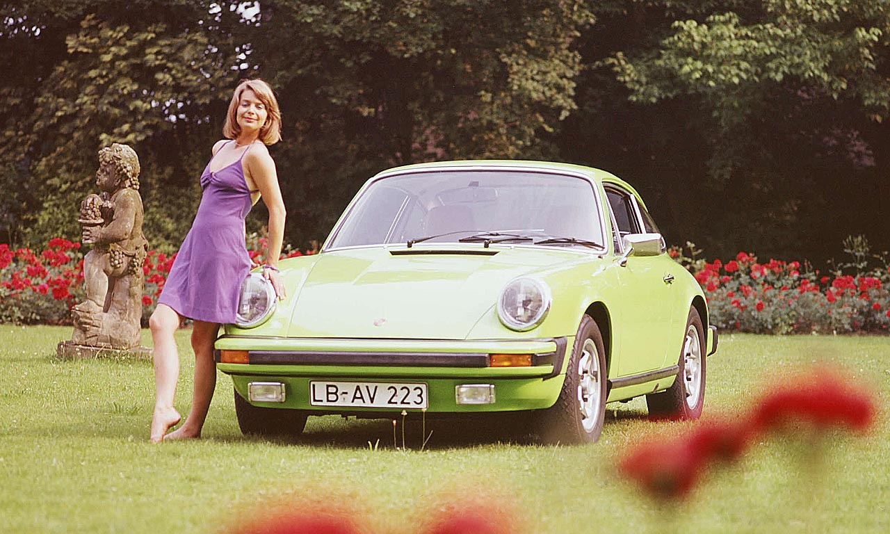 Kleiner Einbruch im Klassik Auto Markt Oldtimer Porsche 911