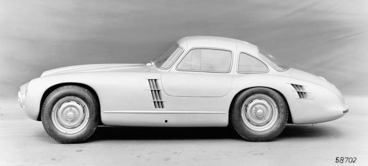 Mercedes-Benz 300 SL (W 194) mit der Chassisnummer W 194 011. Rennsportprototyp für die Rennsaison 1953. Dieser Prototyp kam nicht zum Renneinsatz.