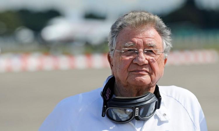 Eine Ikone im Rennsport: Hans Herrmann damals und heute.