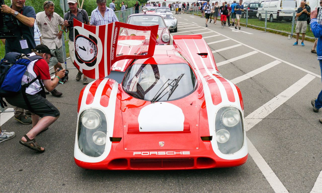 Solitude Revival 2015: Zwei Runden an Bord des Porsche 917 mit Hans Herrmann