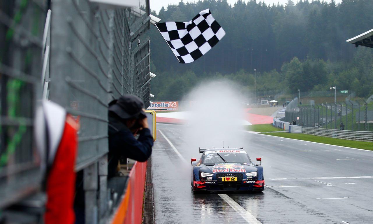 #5 Mattias Ekström, Audi RS5 DTM