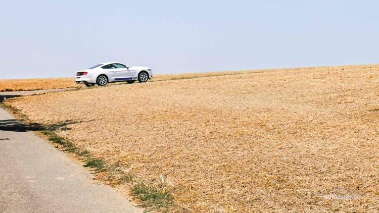 Der neue Ford Mustang GT im Fahrtest 15 750x422 - Ford Mustang GT: Power-Schaukel mit schwachem Sound.