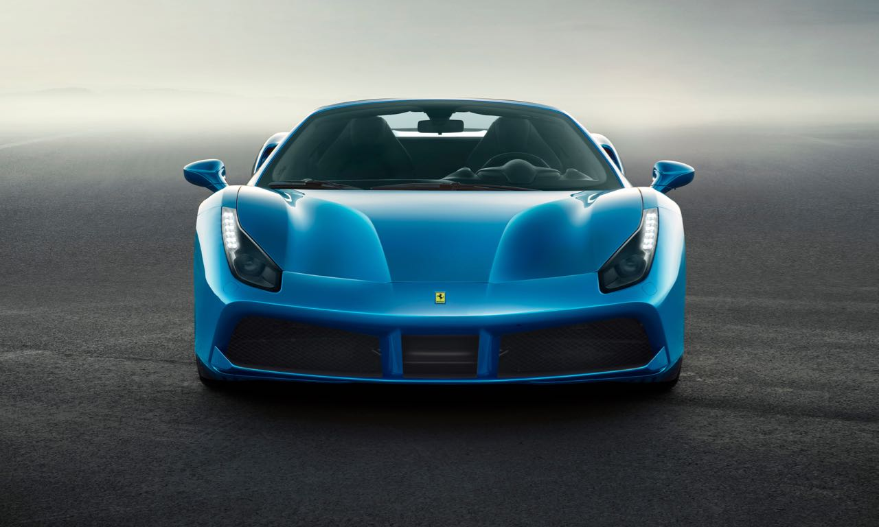 Ferrari 488 Spider Supersportwagen