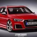 Audi RS4 Rendering