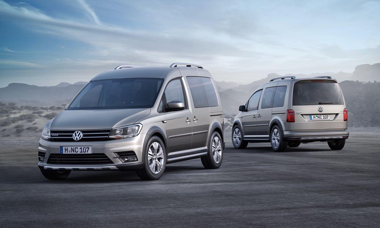 Der neue VW Caddy Alltrack auf der IAA 2015