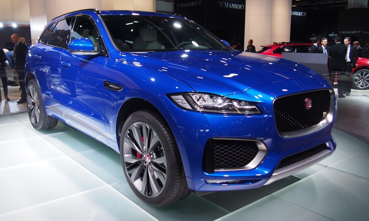 Jaguar F-Pace (2016) auf der IAA 2015