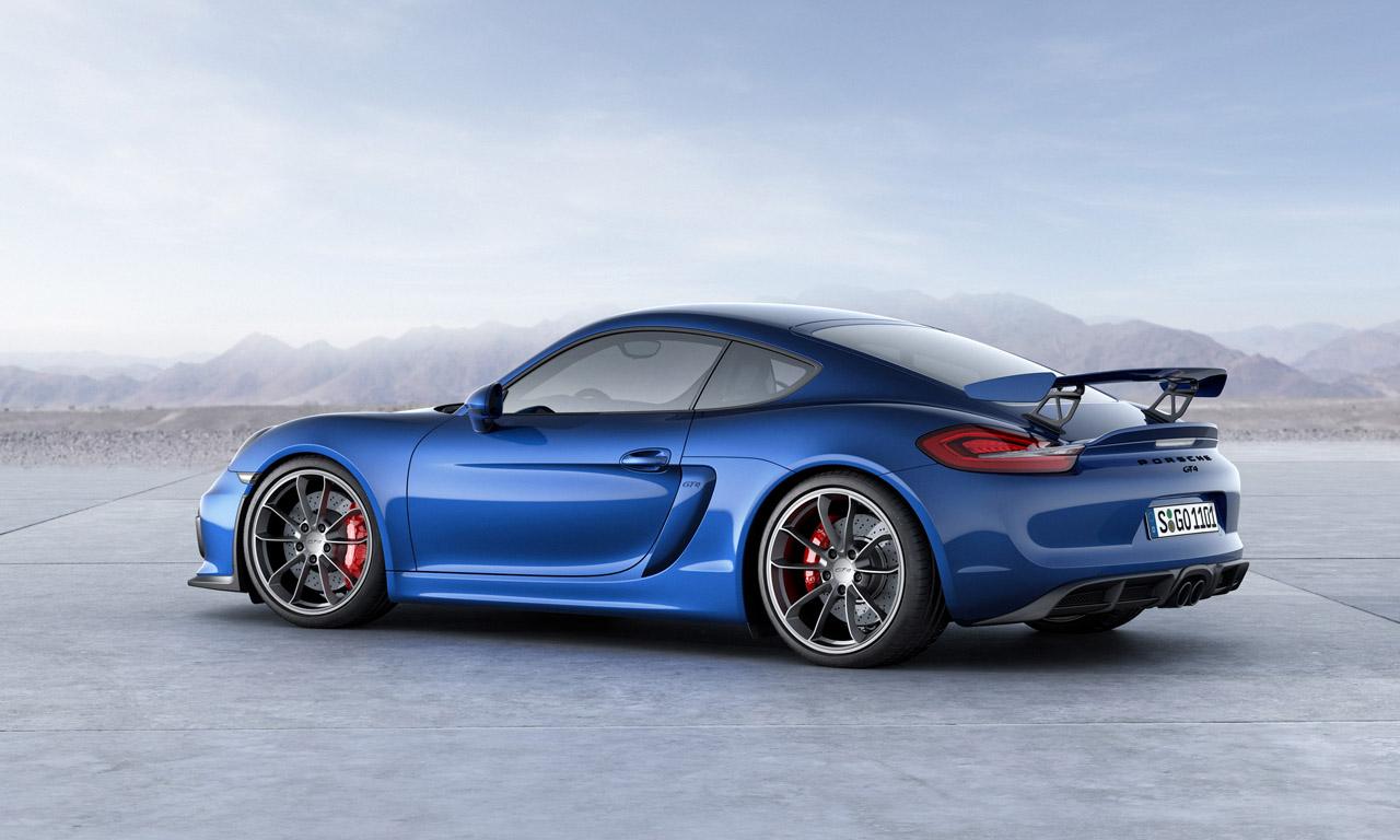 Porsche Cayman GT4 in Zukunft auch mit PDK aber ohne RS-Version