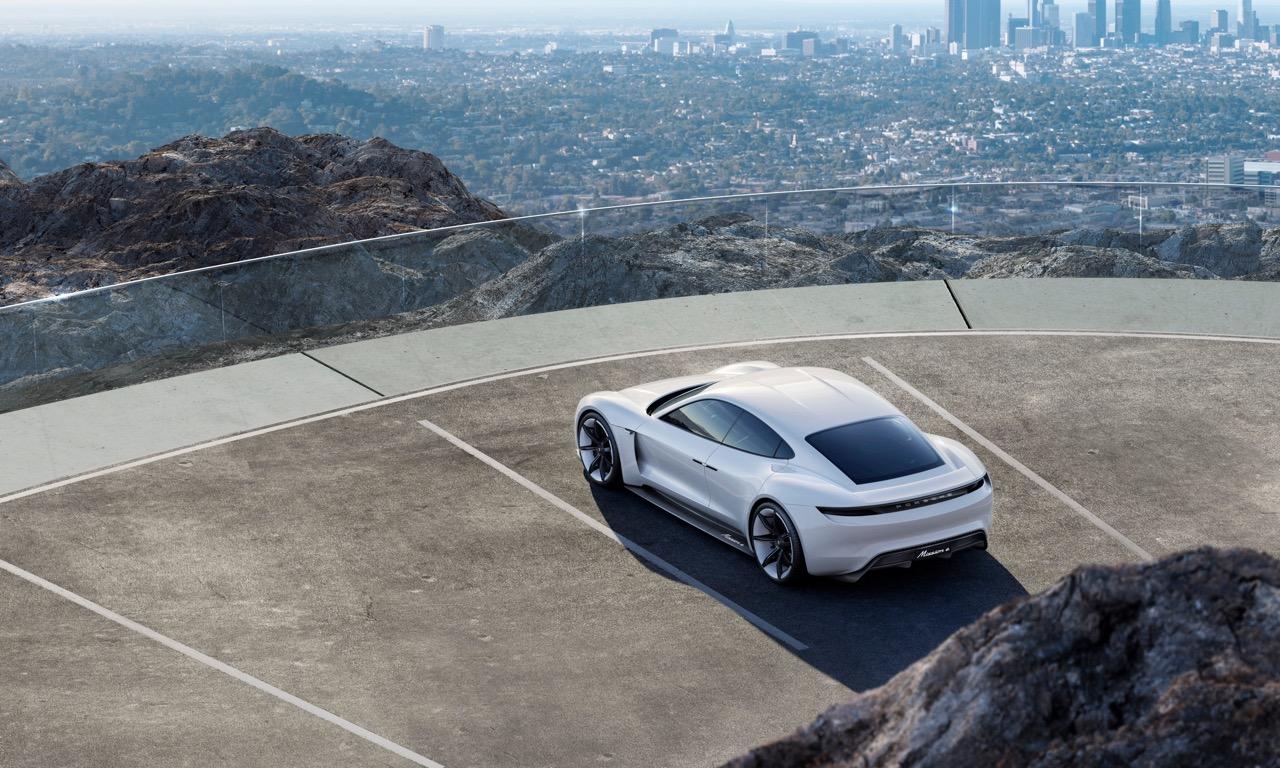 Porsche Mission E Konzept