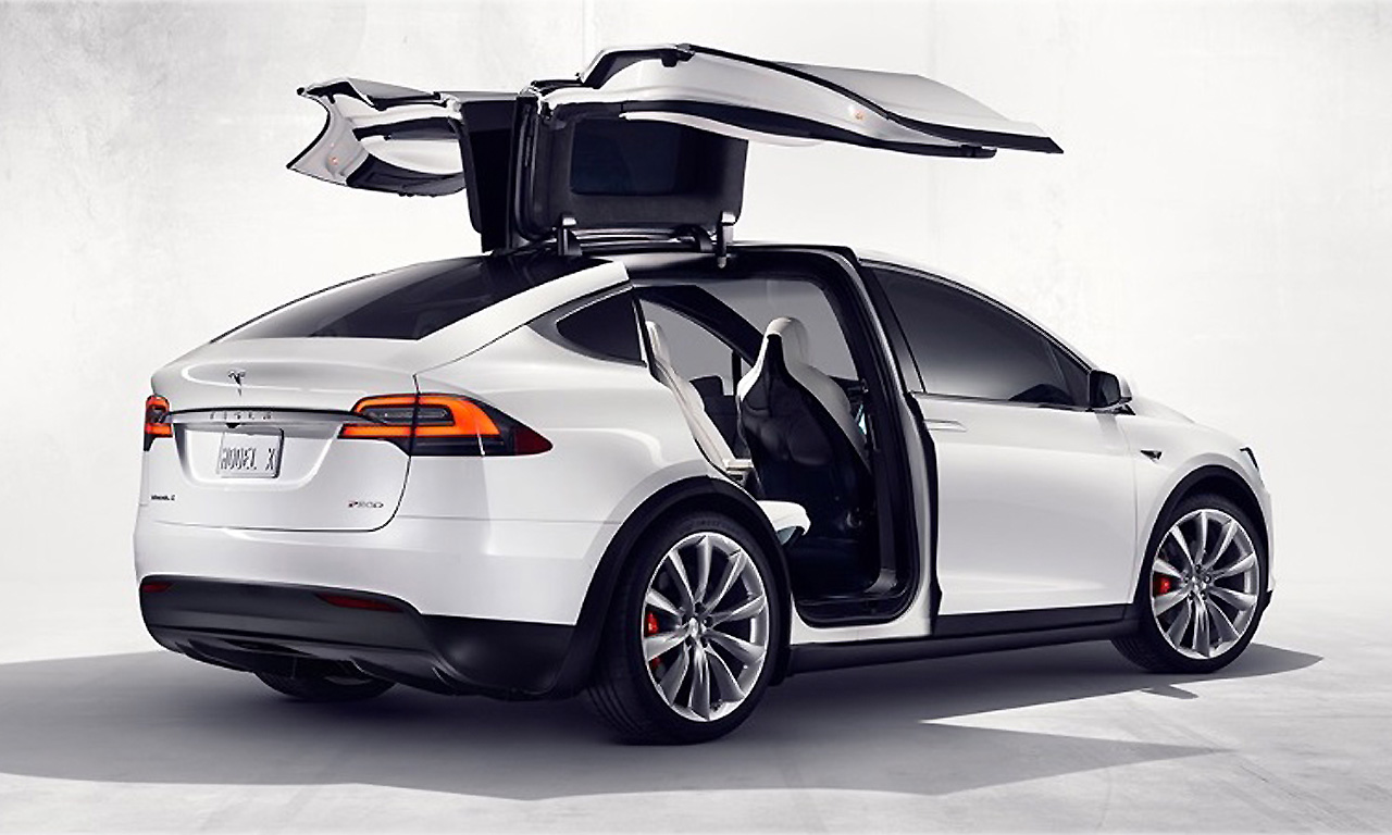 tesla model x 2016 preise bilder und technische daten das auto magazin. Black Bedroom Furniture Sets. Home Design Ideas