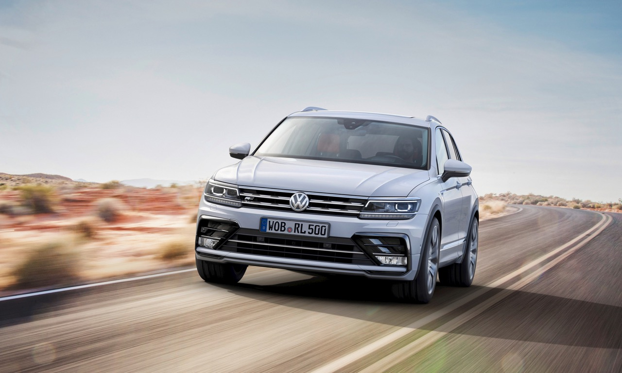 Der neue Volkswagen Tiguan R-Line