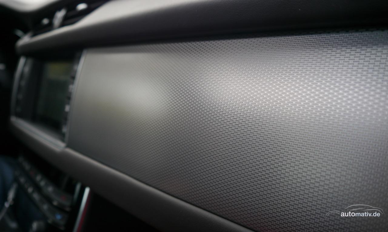 1Neuer Jaguar XF kurz gefahren 31 - Neuer Jaguar XF R-Sport 30d im Fahrbericht