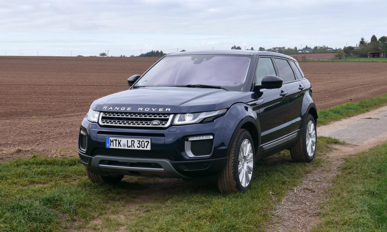 Neuer Land Rover Range Rover Evoque im Test Fahrbericht MY 2016
