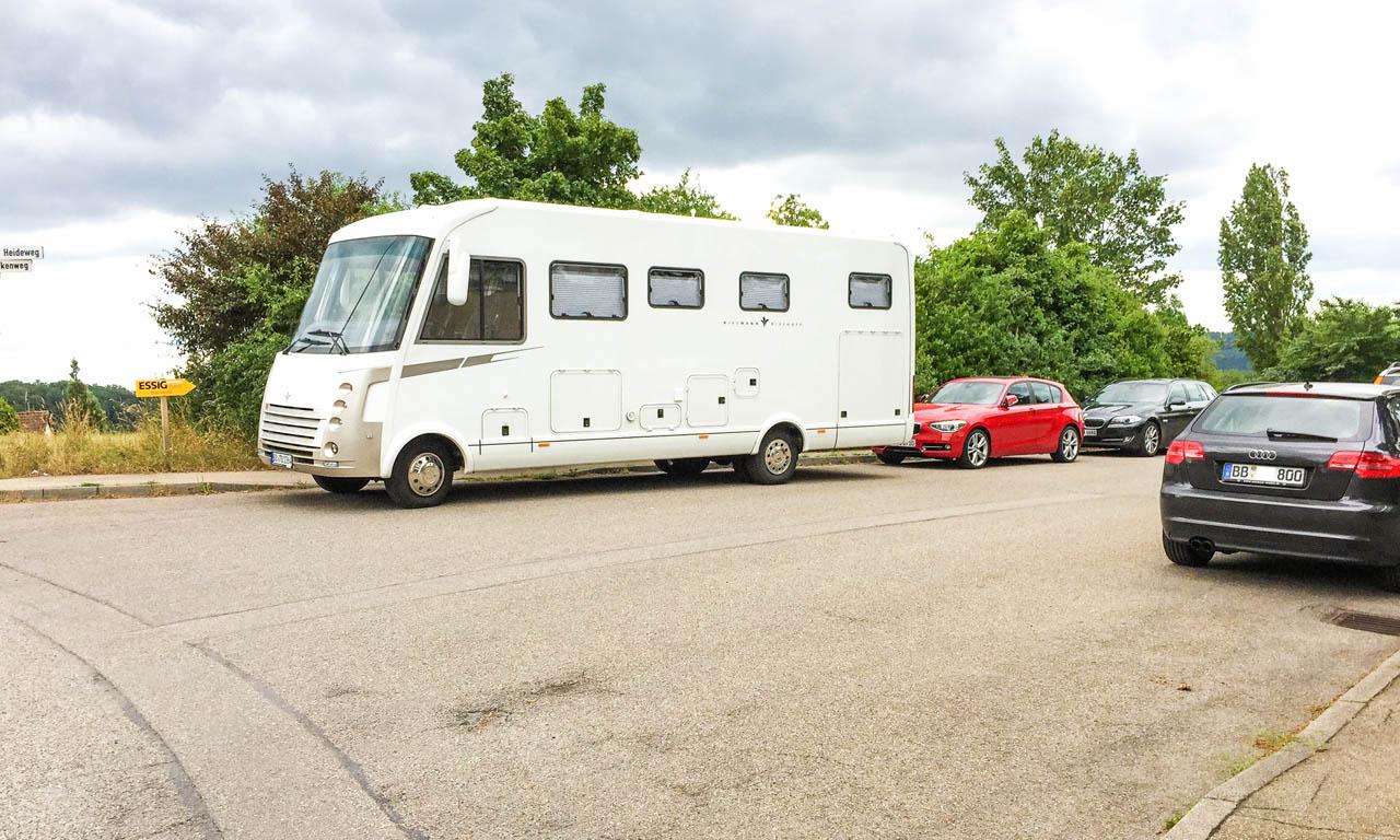 AUTOmativ Ratgeber so parkt man sein Wohnmobil richtig Expeditionsmobil Hymer Bimobil Allrad Abenteuer