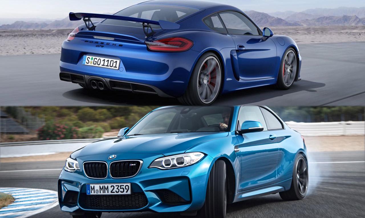 BMW M2 oder Porsche Cayman GT4?