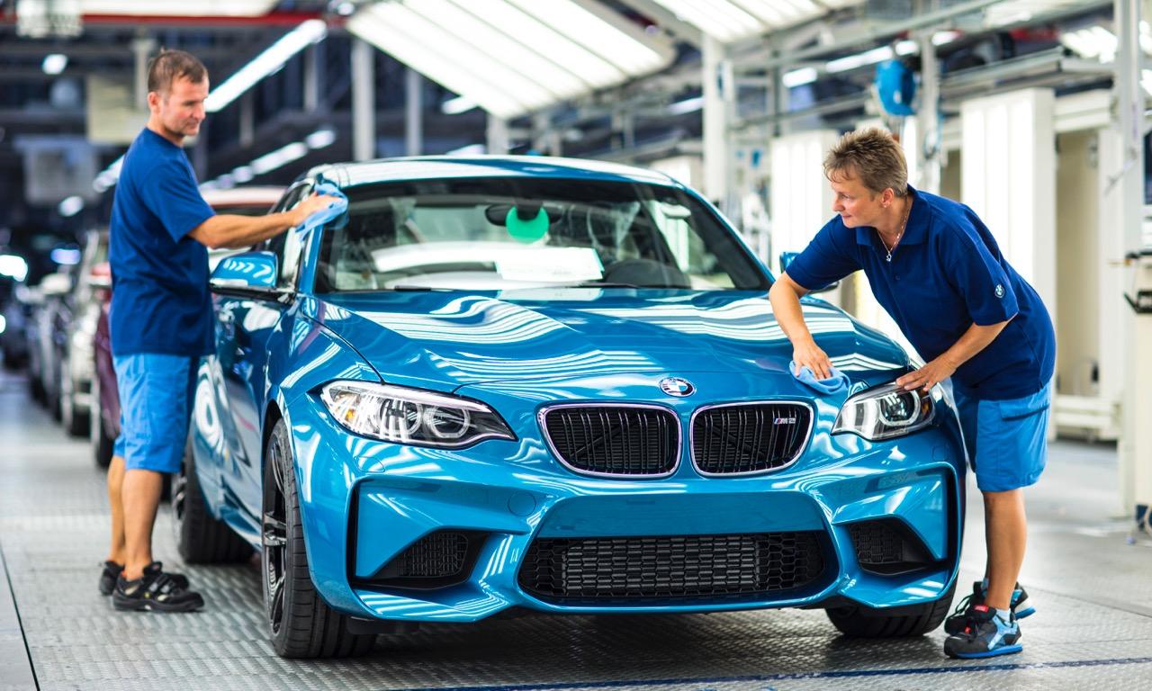 BMW startet Serienproduktion des BMW M2 Coupe MY 2016 im BMW Werk Leipzig