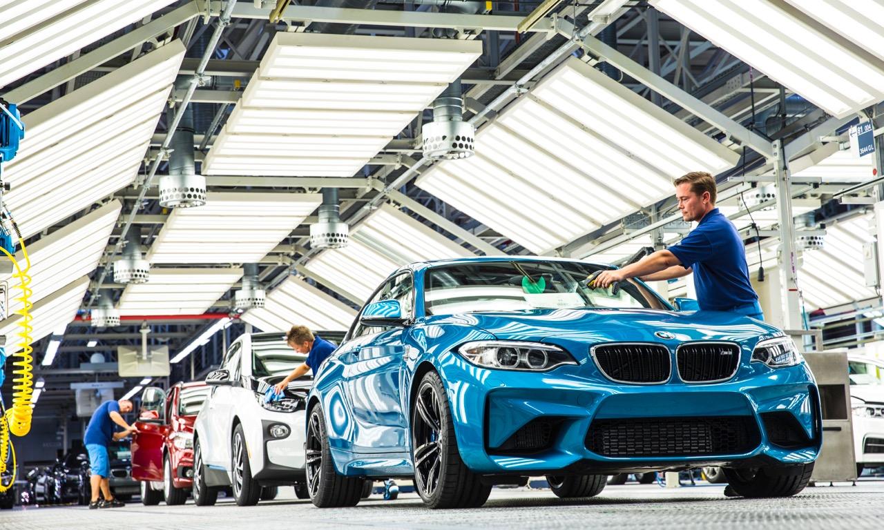 BMW startet Serienproduktion des BMW M2 Coupe MY 2016 im BMW Werk Leipzig 3 - Ab heute wird der BMW M2 in Leipzig produziert!!!