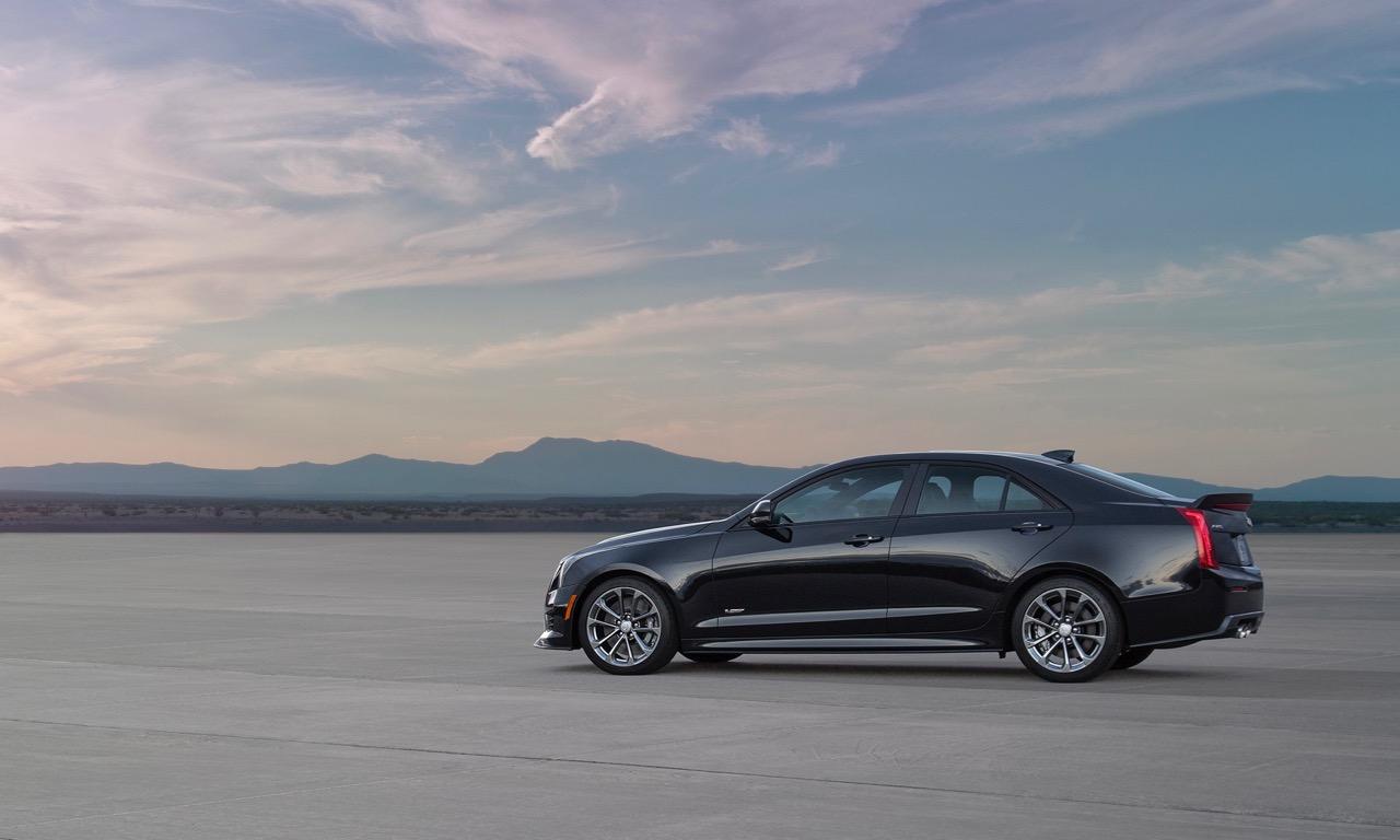 Cadillac ATS V Sedan Mercedes BMW Power Limousine 2016 Leistung Tuning V8 USA 1 - Cadillac ATS-V: Preise, Bilder und Technische Daten