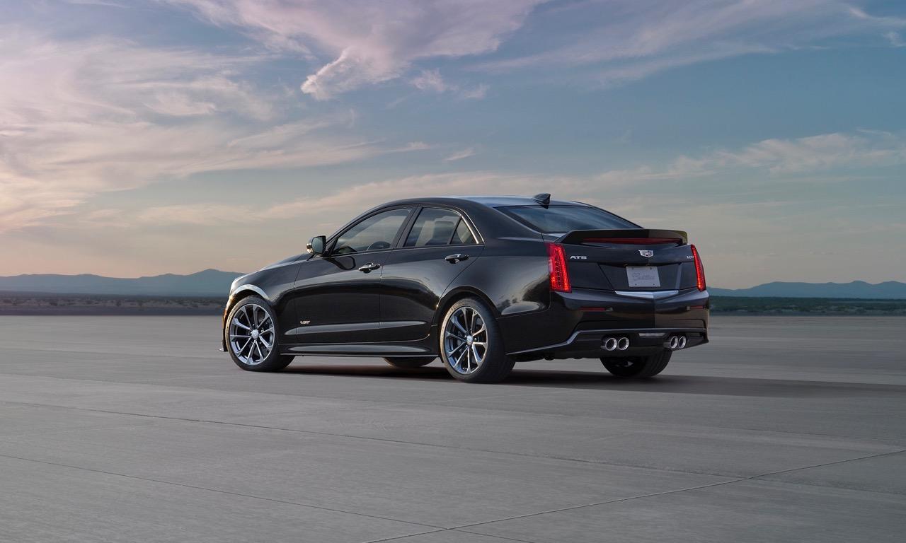 Cadillac ATS V Sedan Mercedes BMW Power Limousine 2016 Leistung Tuning V8 USA 2 - Cadillac ATS-V: Preise, Bilder und Technische Daten