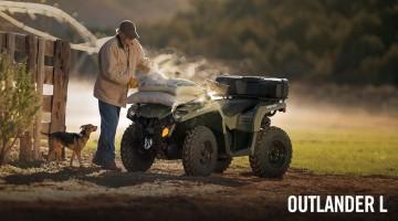 Can-Am Outlander L: Bilder, Preise und Technische Daten