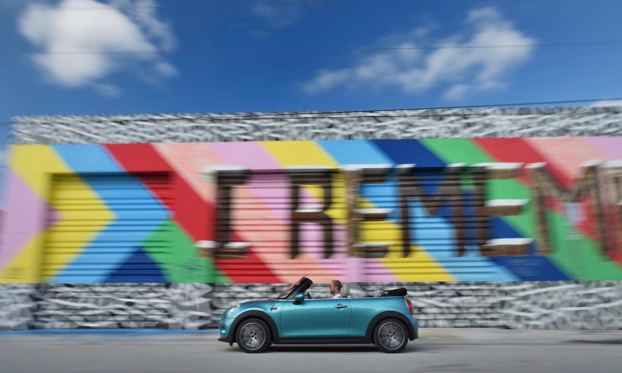 Das neue Mini Cabrio (2016) Preise Daten Ausstattungen Bilder Film Media Blau Miami