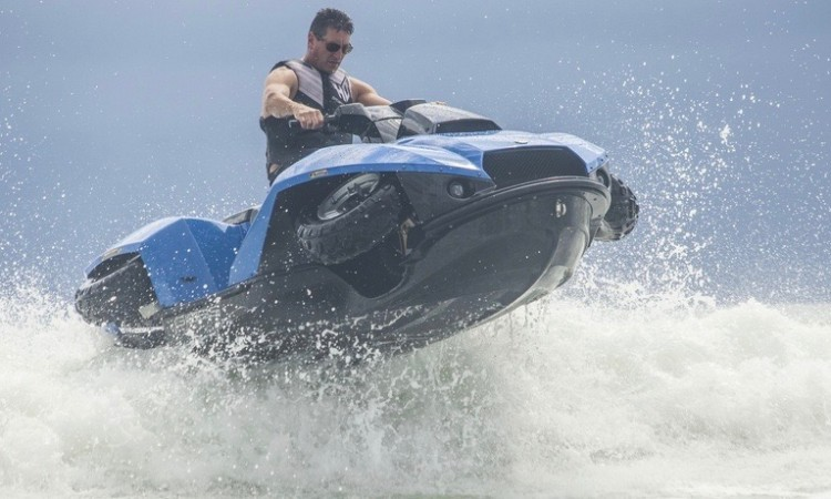 Gibbs Quadski: Power-ATV zu Land und zu Wasser