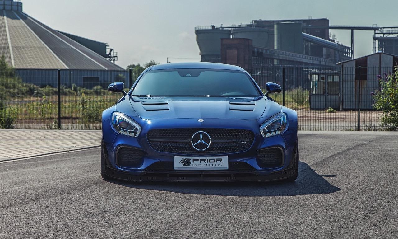 Mercedes-AMG GT von Prior Design: Mit und ohne Widebody