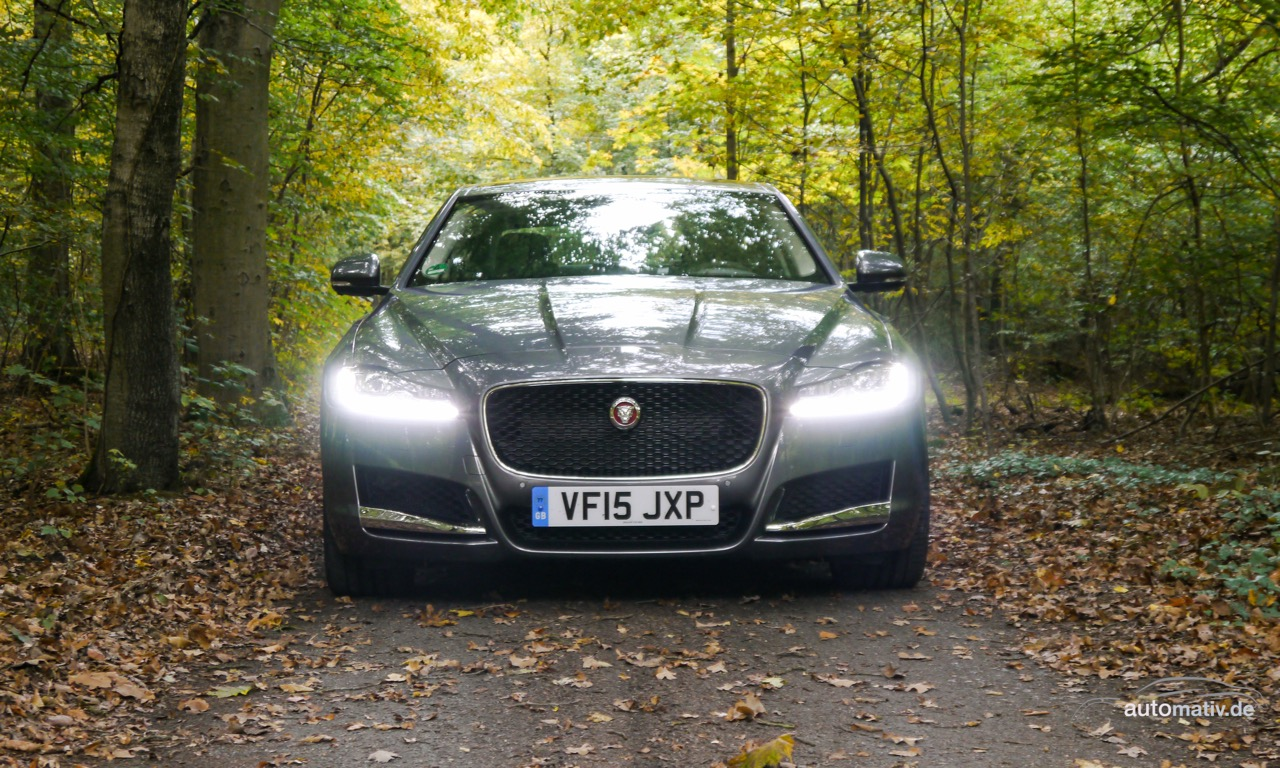 Neuer Jaguar XF kurz gefahren