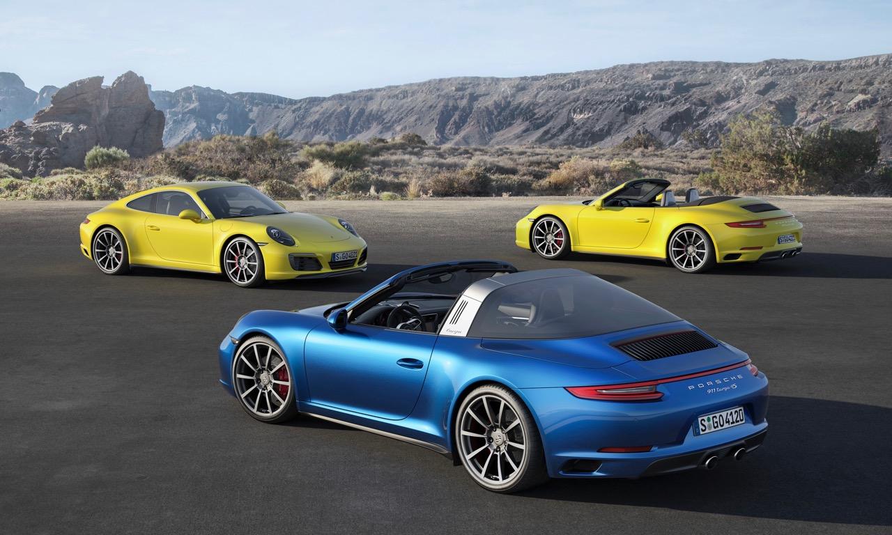 Porsche Carrera 4 und Targa 4 Allrad Modelle