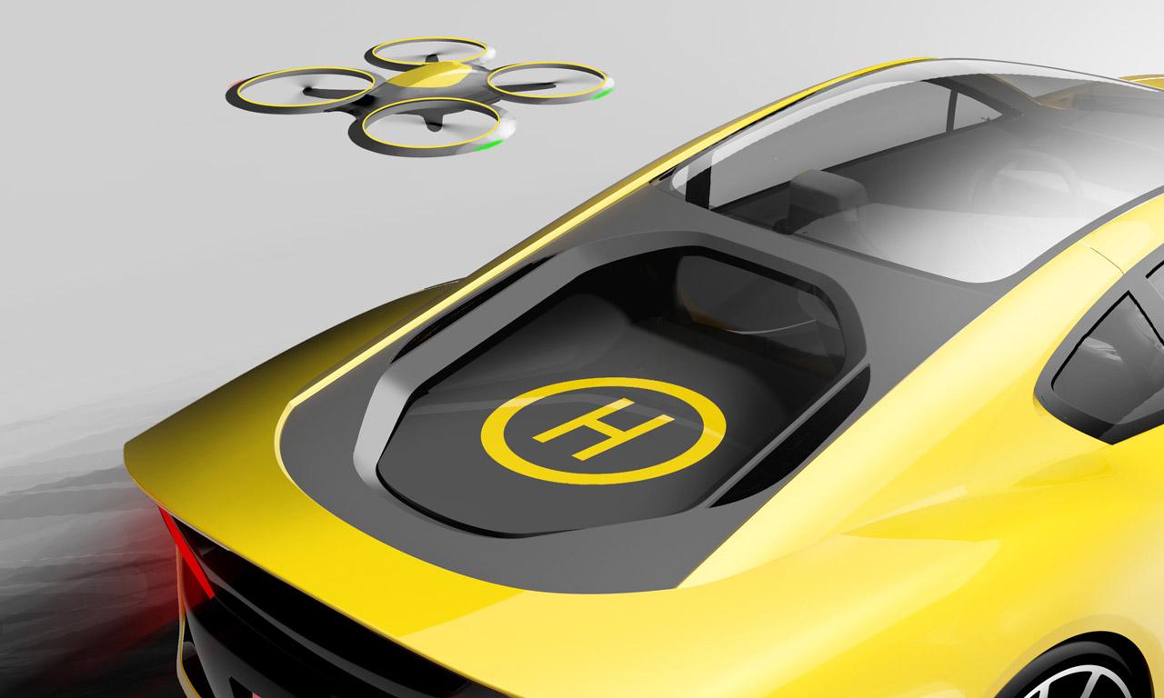 Rinspeed Etos Details Exterieur - CES Las Vegas 2016: Rinspeed Etos kann von alleine fahren