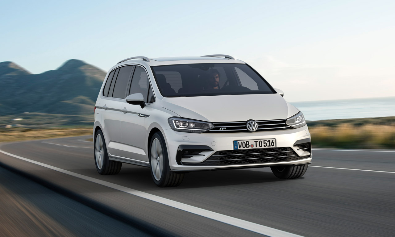 VW Touran R-Line: Kinderwagensportler