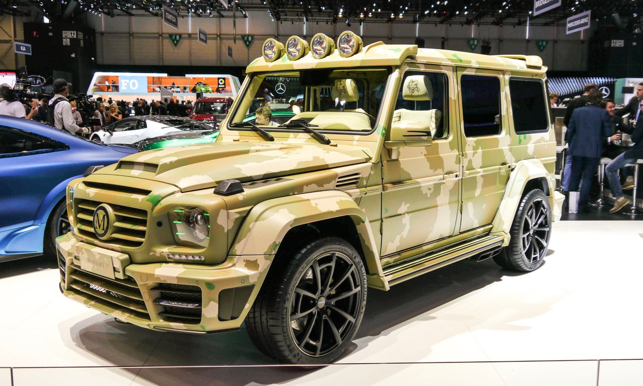 mercedes g klasse im sahara look von mansory automativ. Black Bedroom Furniture Sets. Home Design Ideas