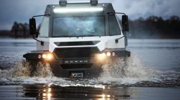 Avtoros Shaman 8×8 ATV: Russisches Extremmobil