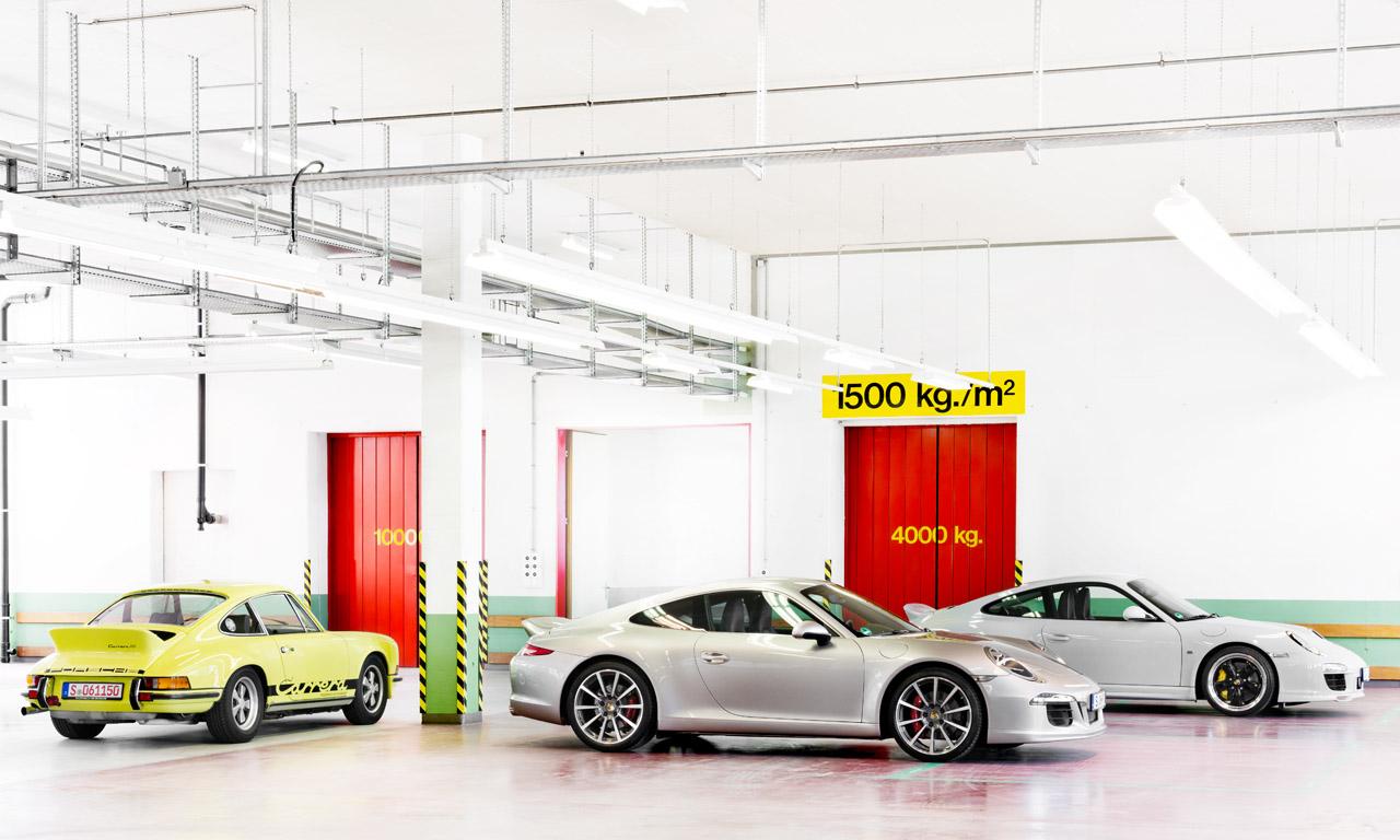 Eine Werkstatt aber keine Ausstattung Porsche Ducktail