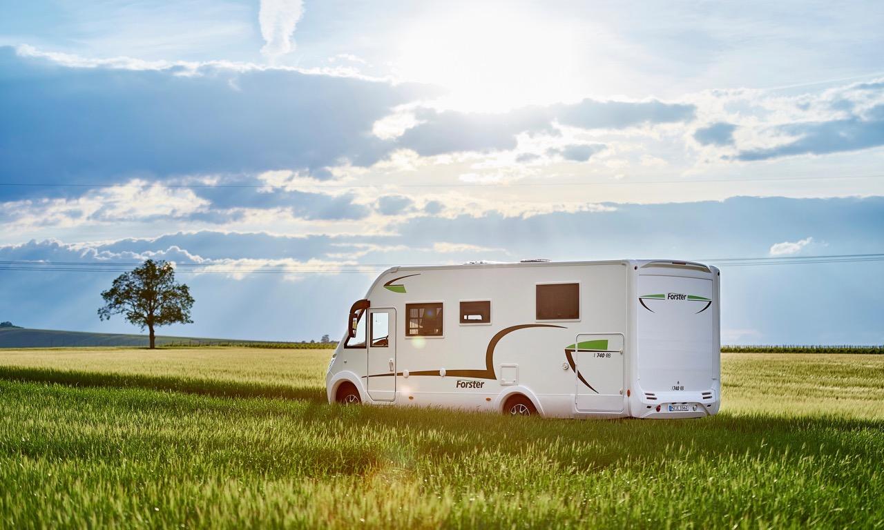 Forster Integrierter FI Wohnmobil Reisemobil unter 60.000 Euro Preis