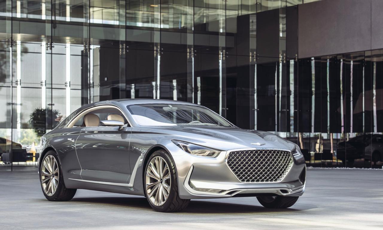 Hyundai macht auf Luxus mit Genesis und G-Baureihe G90