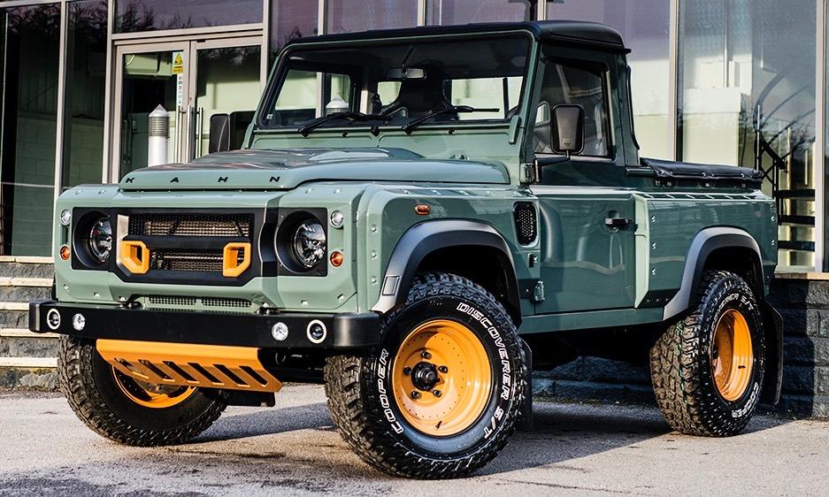 Der perfekte Land Rover Defender von Kahn Design