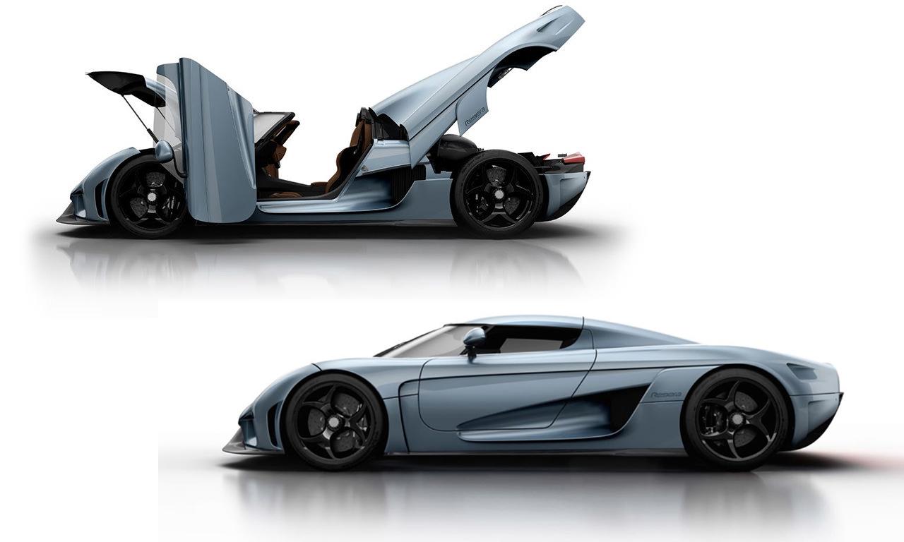 Koenigsegg Regera Vollständig automatisiert Roboter