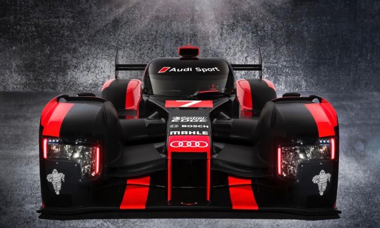 Neuer Audi R18 schaut so böse, weil er Le Mans verloren hat