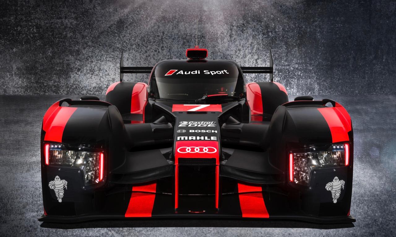 Neuer Audi R18 fuer Le Mans