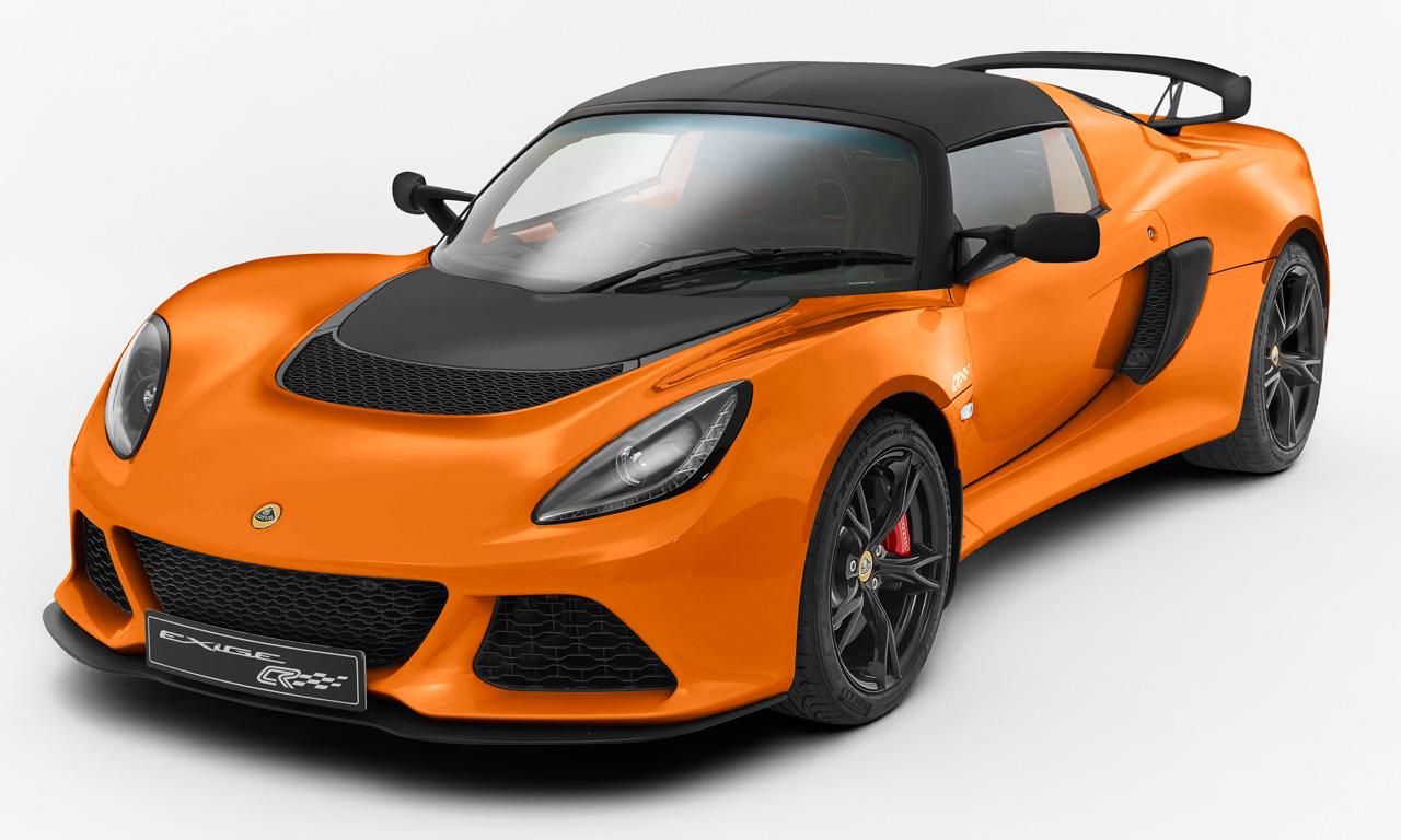 Lotus Exige S Club Racer Rennwagen Ganz