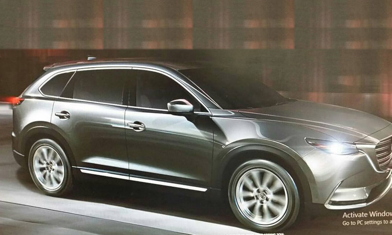 Mazda CX-9 Seite