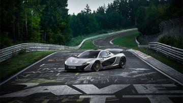 McLaren P1 auf der Nordschleife