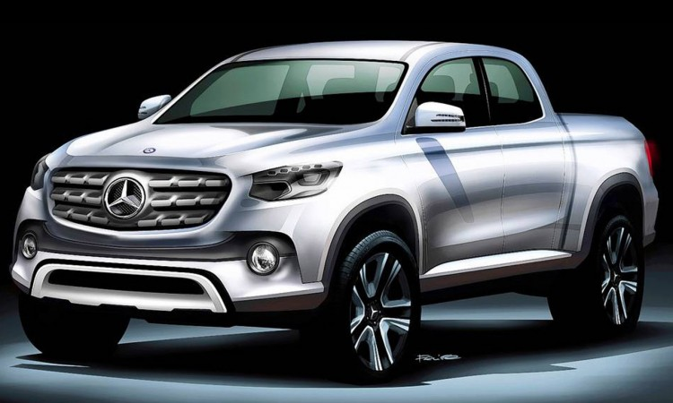 Mercedes-Benz GLT oder X-Baureihe Pick-Up: Luxus mit Pritsche