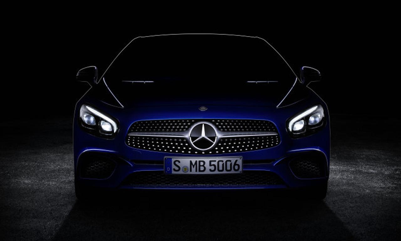 Mercedes-Benz SL Daimler Neu Teaser