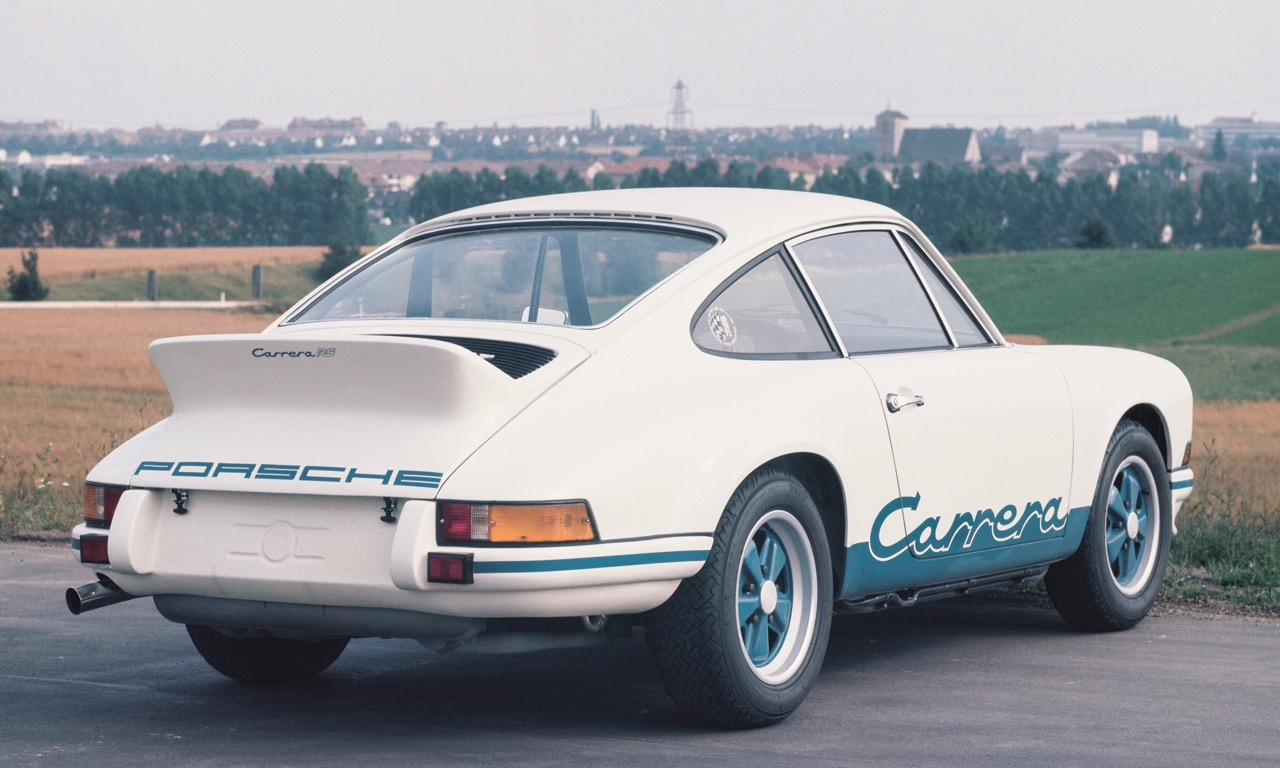 Porsche Carrera 2.7 RS - Entstehung Heckspoiler