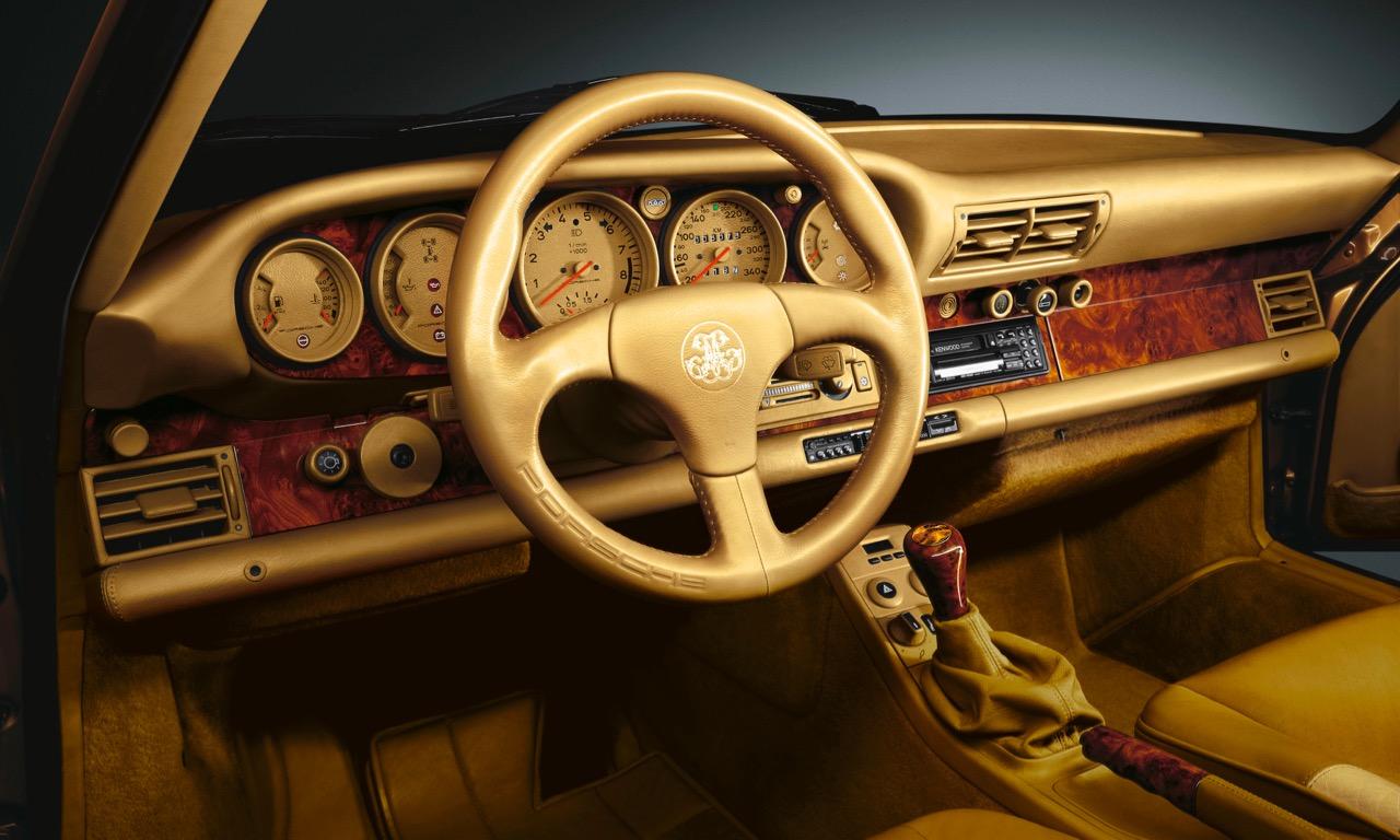 Porsche Exclusive Sportwagen Manufaktur Individualisierung auf höchstem Niveau Porsche 959 Porsche 911 996 Supercar Supersportwagen Designer Orange Carlo Rampazzi 2 - Porsche Exclusive: Von goldenen Endrohren und belederten Knöpfen