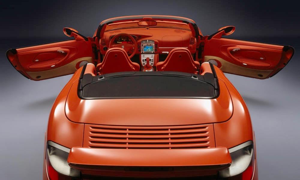Porsche Exclusive Sportwagen-Manufaktur Individualisierung auf höchstem Niveau Porsche 959 Porsche 911 996 Supercar Supersportwagen Designer Orange Carlo Rampazzi - 4
