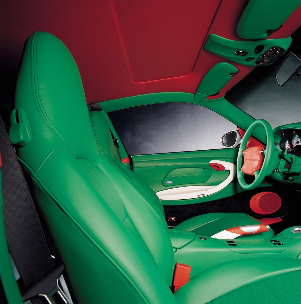 Porsche Exclusive Sportwagen Manufaktur Individualisierung auf höchstem Niveau Porsche 959 Porsche 911 996 Supercar Supersportwagen Designer Orange Carlo Rampazzi 6 - Porsche Exclusive: Von goldenen Endrohren und belederten Knöpfen