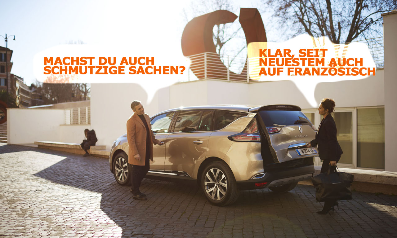 Renault Espace Abgas